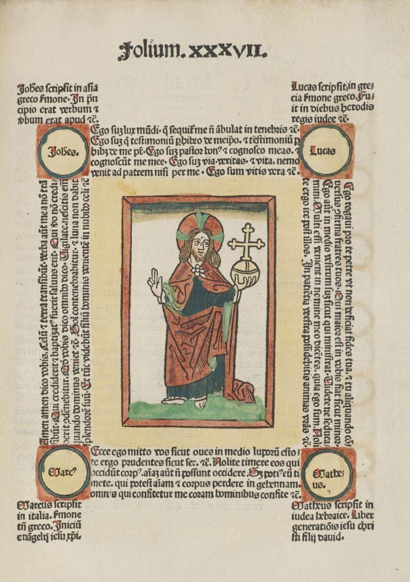 Fasciculus temporum Rolevinck, Werner Strassburg Johann Pruss, 1487 fol 37