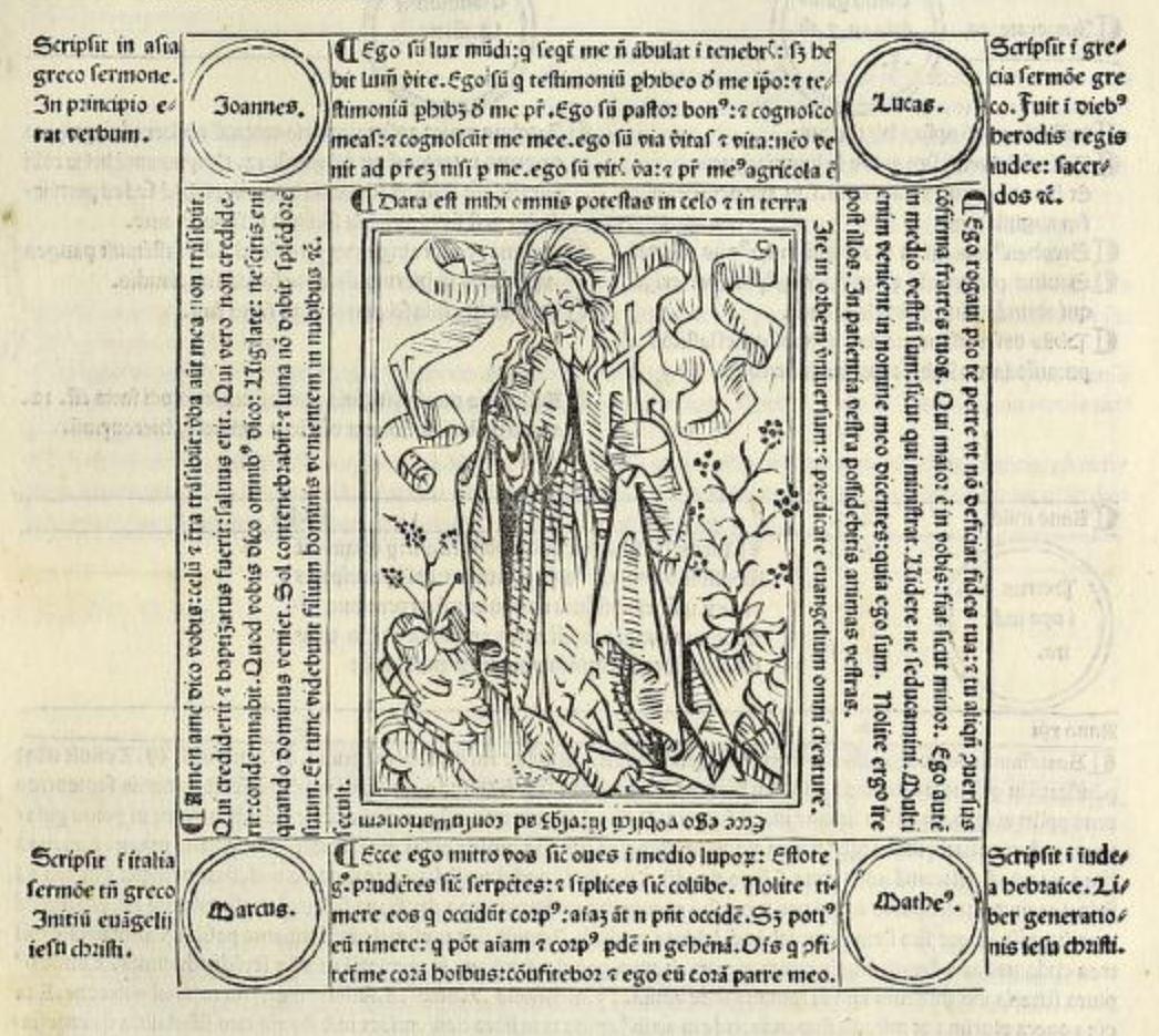 Fasciculus temporum Rolevinck, Werner Venise, 1480 Erhardi Ratdolt fol 26