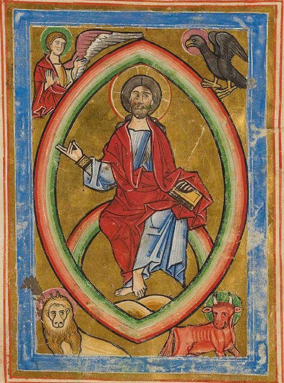Hamburger psalter, 1220, UB Hamburg Cod. 85, f.209