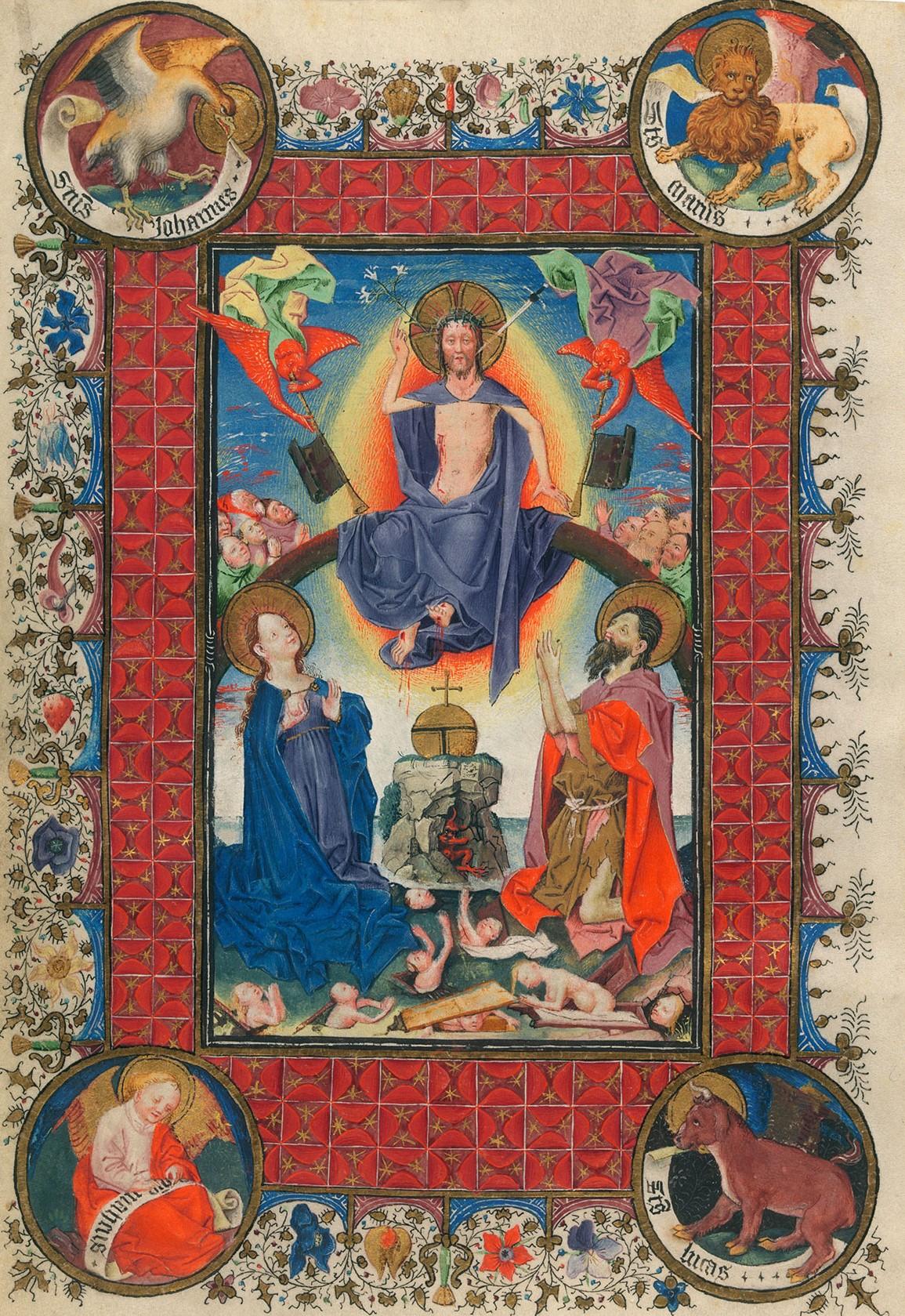 Heures de Catherine de Cleves 1440 ca MSS M.917945, p. 28–f 151r Morgan Library