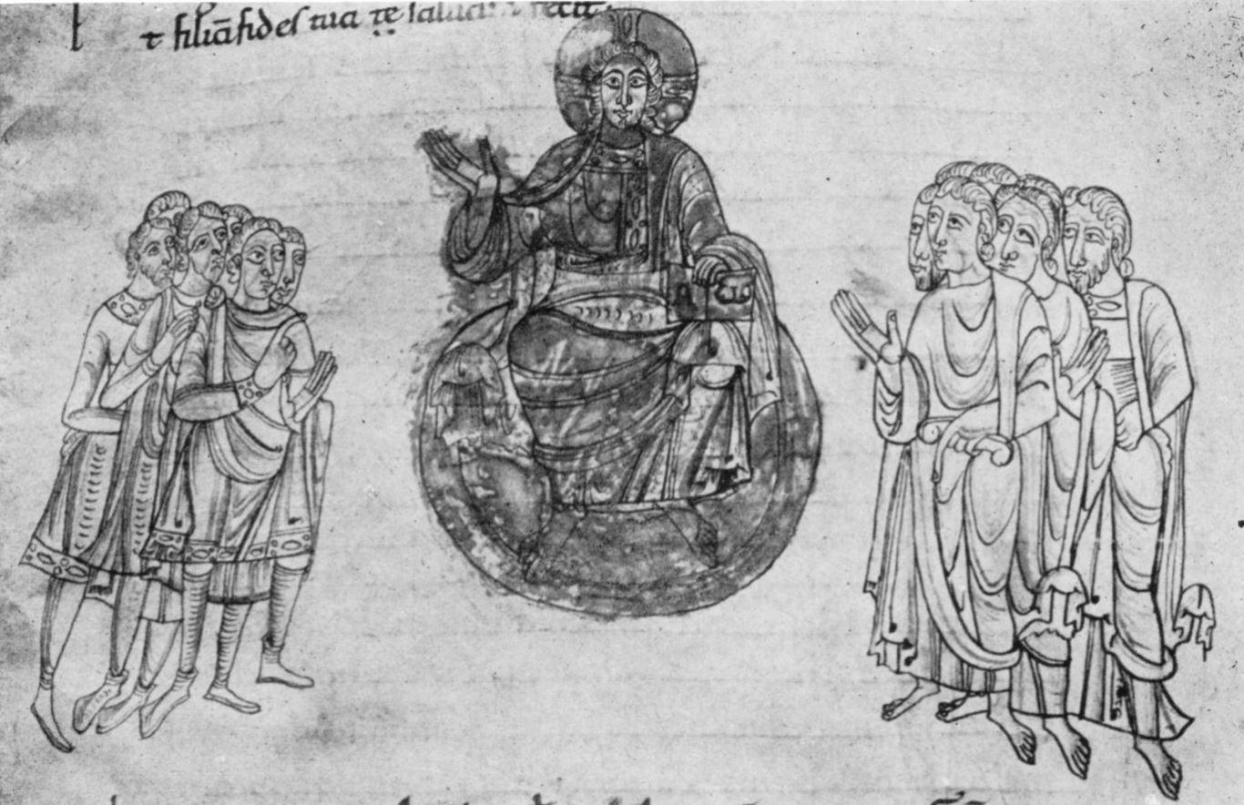 Homelies de Bede 1150-1200 Cathedrale San Feliu Musee de Gerone