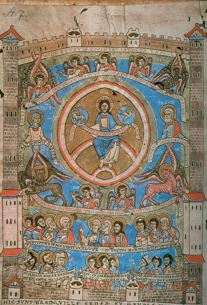 La cite de Dieu scriptorium d'Olomouc avant 1150 Prag, Hradschin