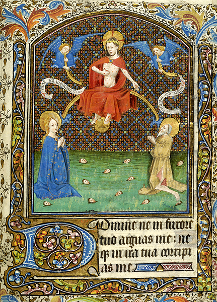 Last Judgment. Belgium, possibly Tournai, ca. 1440 MS M.357. Fol. 317r Morgan Library