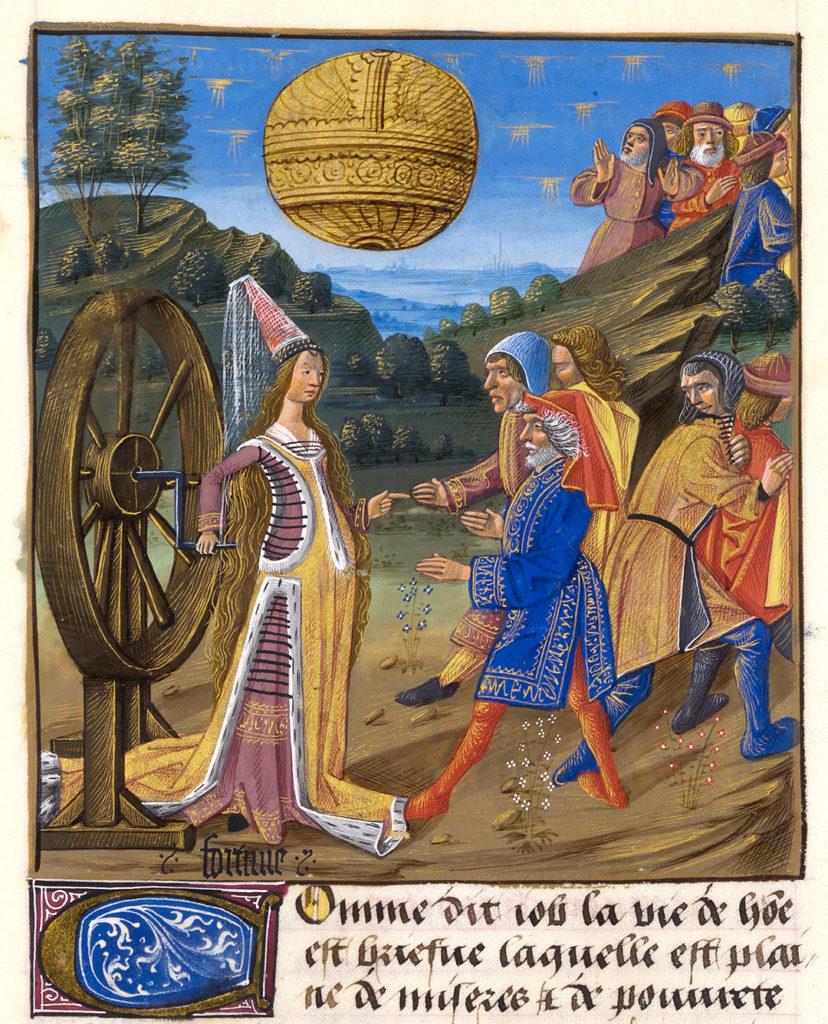Livre des bonnes moeurs de Jacques Legrand, ms. 0297 (1338), f. 129v, ca. 1490, Musee Conde, Chantilly