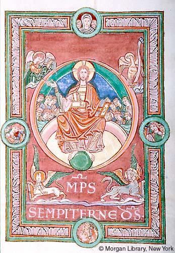 Omnipotens sempiterne dominus Sacramentary France, Mont-Saint-Michel, ca. 1060 MS M.641 fol. 170r Morgan Library