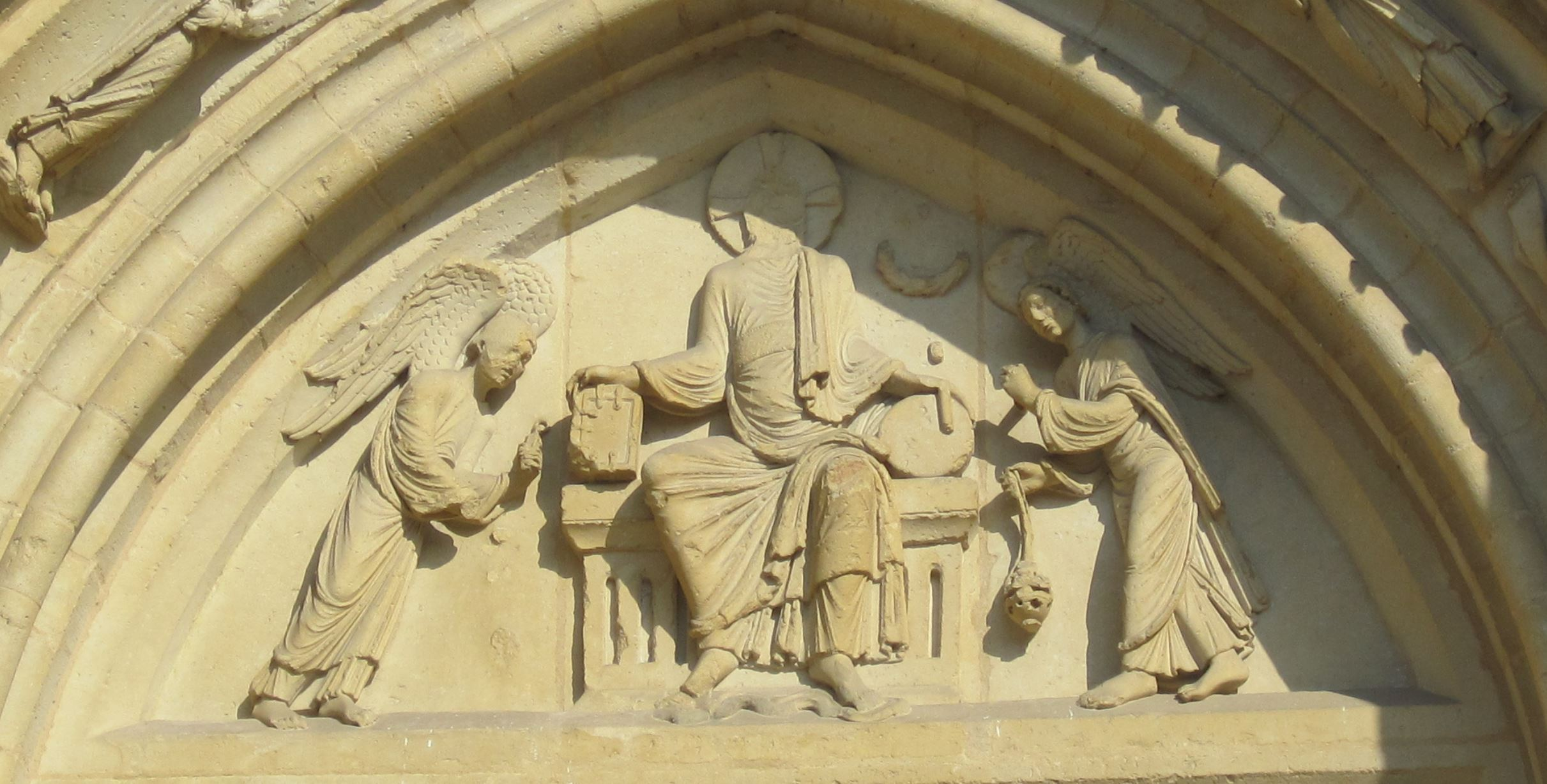 Portail de la Resurrection 1150 Collegiale de Mantes
