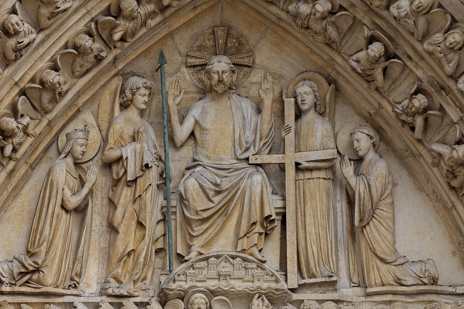Portail_du_Jugement_Dernier 1220-30 _Cathedrale_Notre-Dame Paris