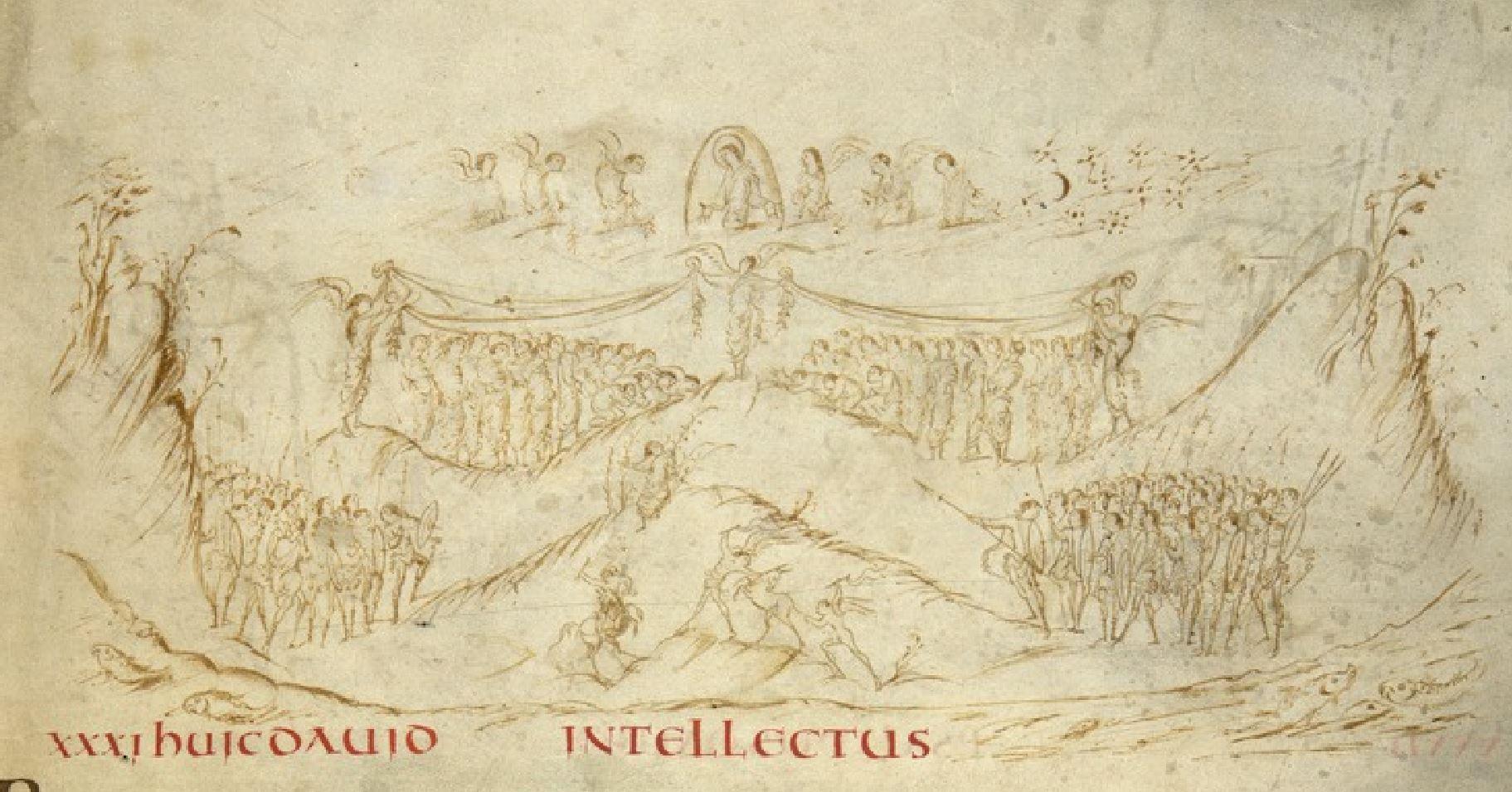 Psaultier d'Utrecht 816-850 Utrecht, Universiteitsbibliotheek, MS Bibl. Rhenotraiectinae I Nr 32fol 18r