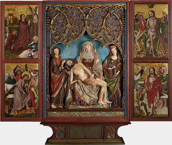 Rauriser Altar vers 1490 Salzburg Museum
