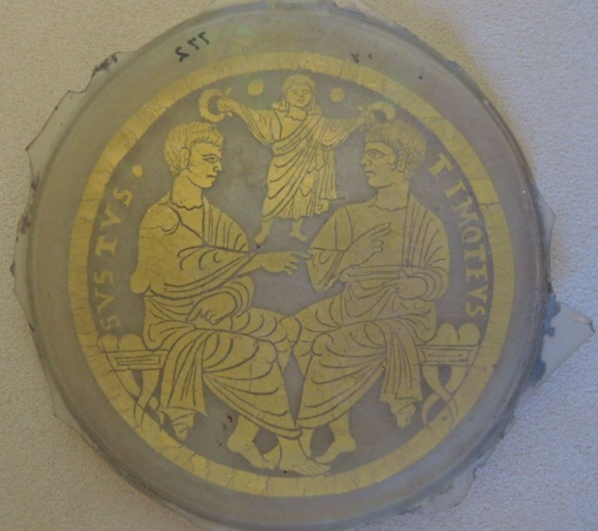 Saint Sixte et Timothee couronnes Vatican