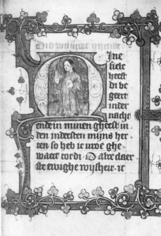 Salvator Mundi 1425 ca Bibliotheek van het Athenaeum Deventer fol 99r