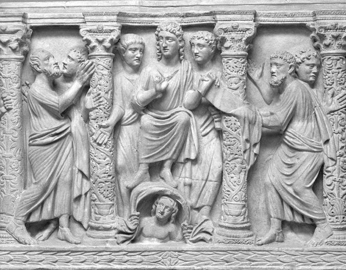 Sarcophage Lat 174 Musee Gregoriano Profano Vatican