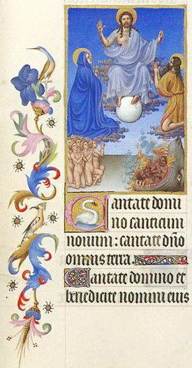 Tres Riches Heures du Duc de Berry 1411-16 Musee Conde MS 65 F34