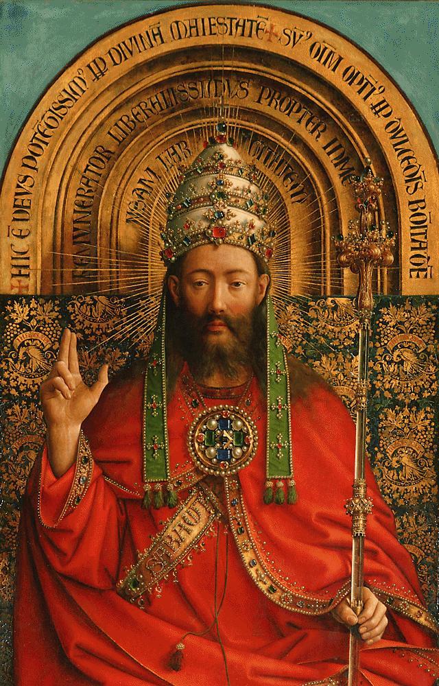 Van Eyck 1432 Retable de Gand