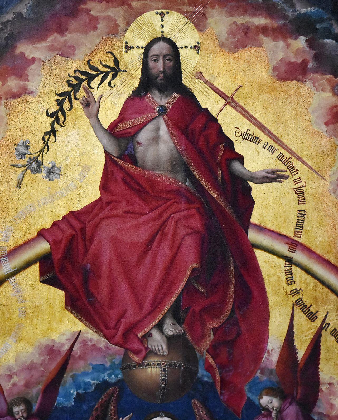 Ven der Weyden 1443-52 Retable de Beaune