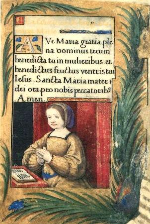 heures-de-renata-de-france 1527 ca Annonciation gauche 2 Musee de Casa Romei Ferrare