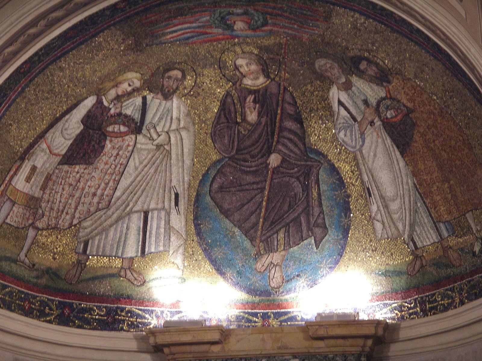the two saints Theodore, 6eme et 14eme San Teodoro Rome