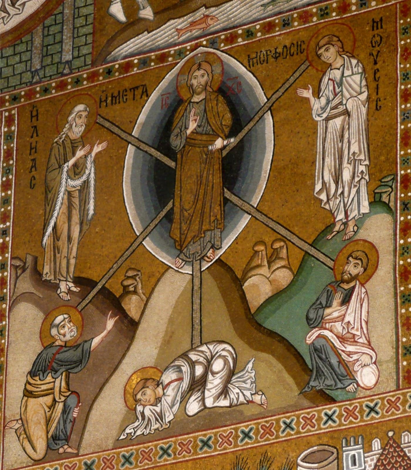 transfiguration Chapelle palatine Palerme