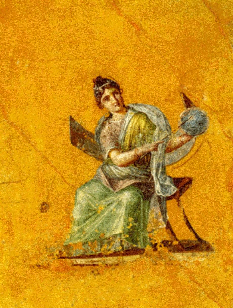 uranie-muse-lastronomie Pompei Louvre