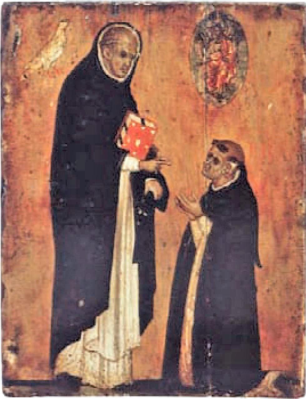 1300 ca Triptyque avec l'Homme de Douleur Simon van Gijn Museum, Dordrecht revers