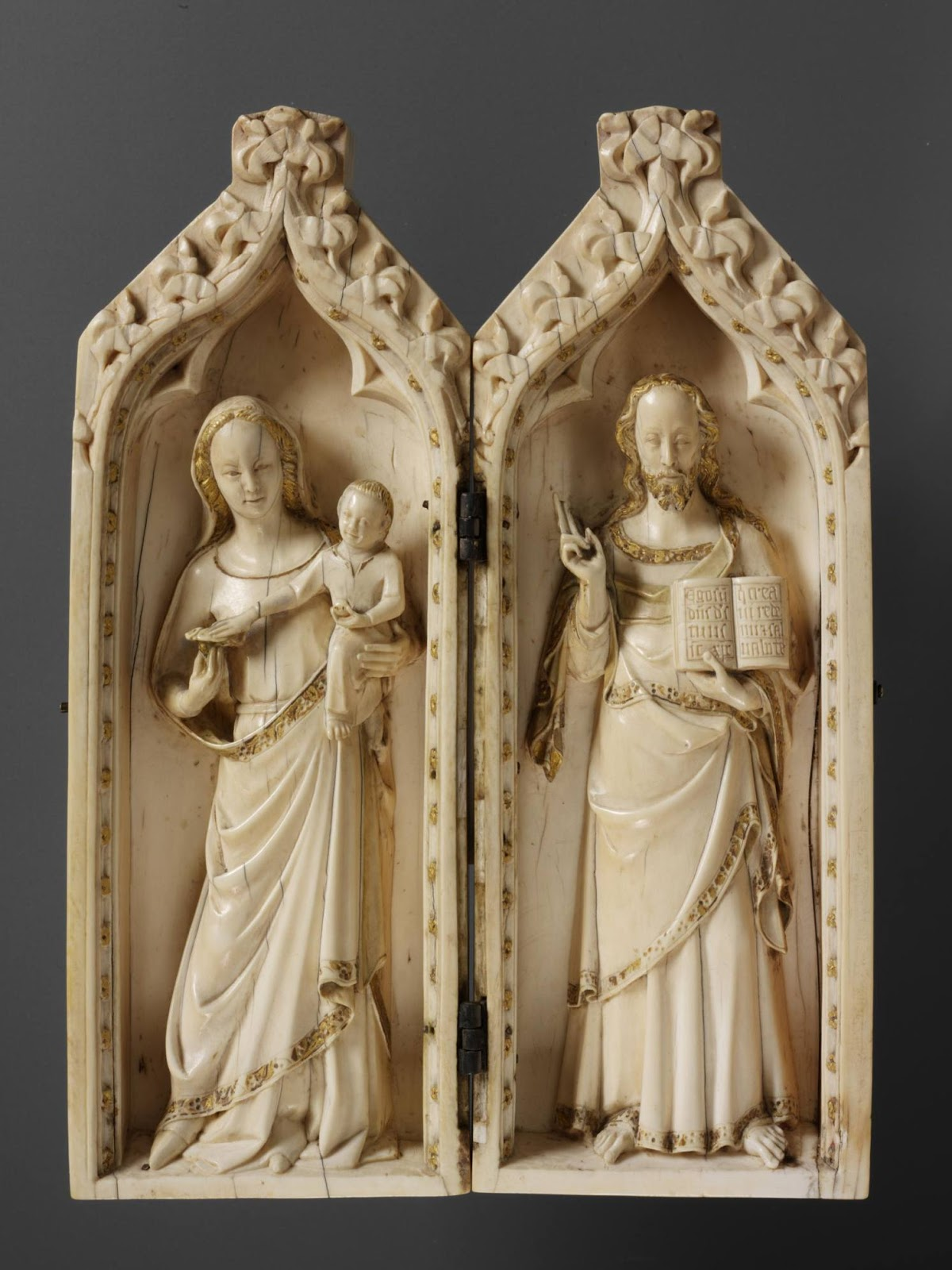 1310-20 Salting-Diptych-Virgin-Christ-ivory-VetA-Westminster