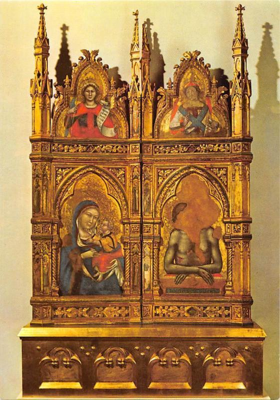 1355 Diptych Tommaso da Modena chateau de Karlstejn
