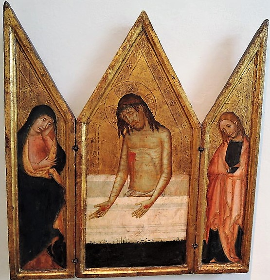 1400 ca Catalogne Triptyque Musee national Prague