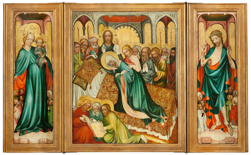1410-15 Altarpiece of Roudnice Musee national Prague