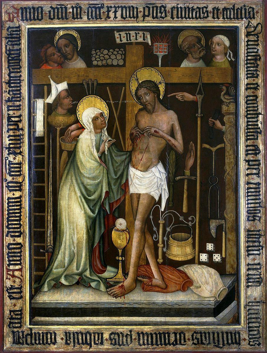 1443 Wrocław_Christ_as_Man_of_Sorrows National Museum Warsaw