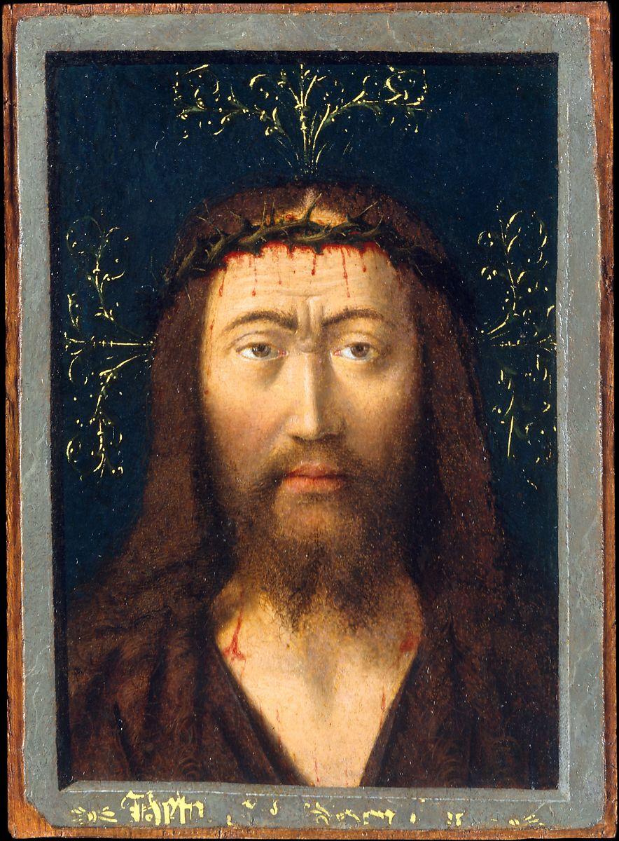 1445 ca Sainte Face Petrus Christus MET