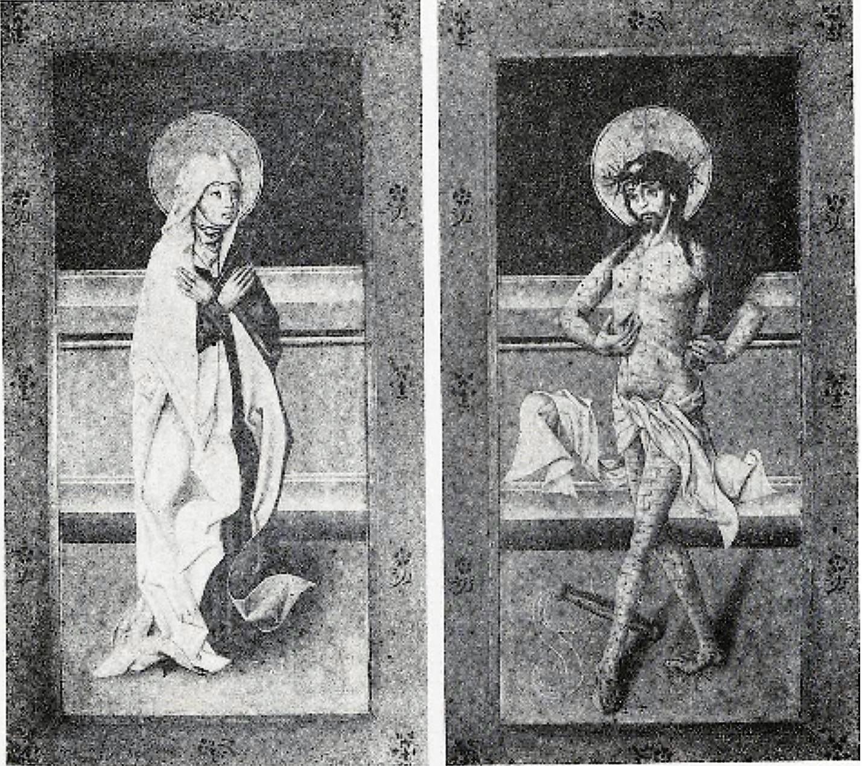 1450 ca Triptyque provenant de hel Musee national Varsovie