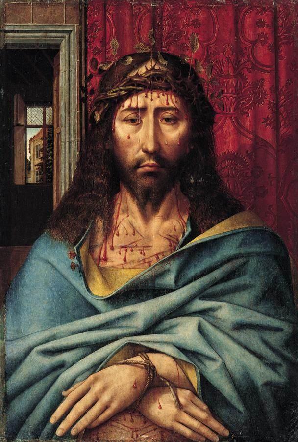 1505-15 Colijn de Coter Man od Sorrows coll priv