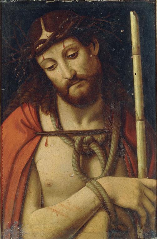1507-09 Mailly Simon de detto Simon de Chalons Ecce Homo galleria Borghese copie solario