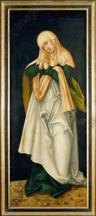 L.Cranach, Maria als Schmerzensmutter - Mary as Mater Dolorosa / Cranach /c.1510 -