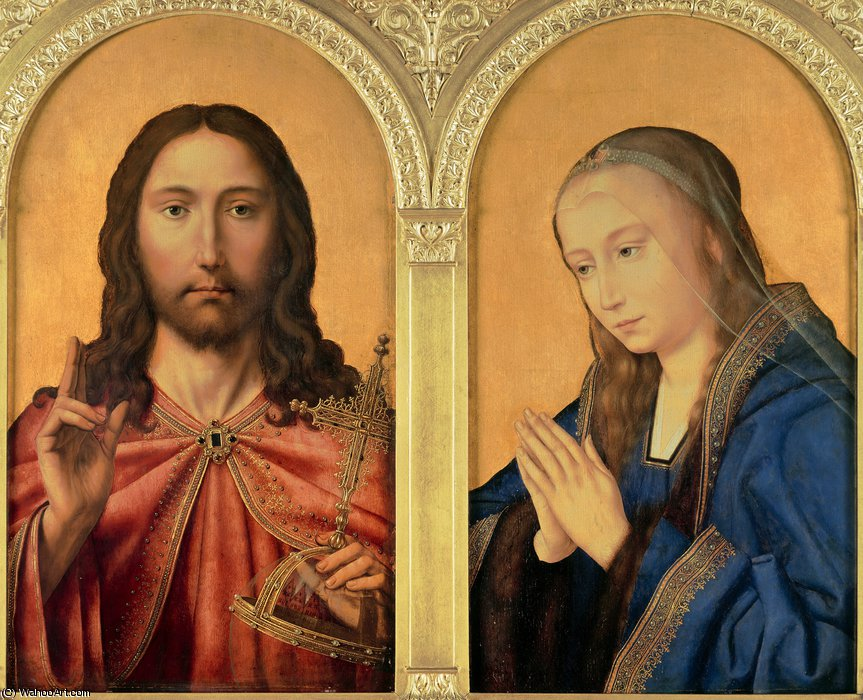 1510-25 CHRIST AND THE VIRGIN atelier QUENTIN MASSYS National Gallery