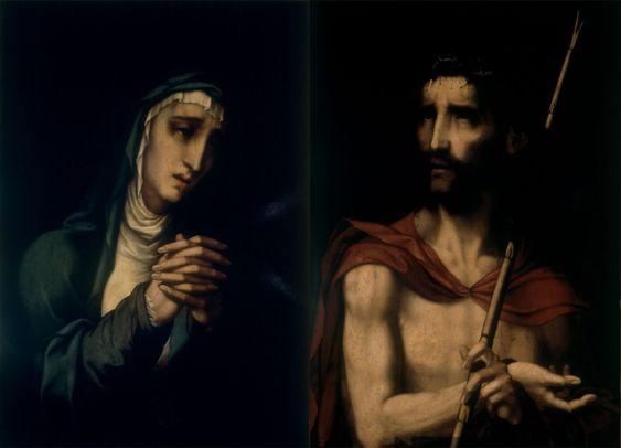 1550-1575 Ecce Homo y Dolorosa Luis de Morales Museo de Malaga1550-1575 Ecce Homo y Dolorosa Luis de Morales Museo de Malaga