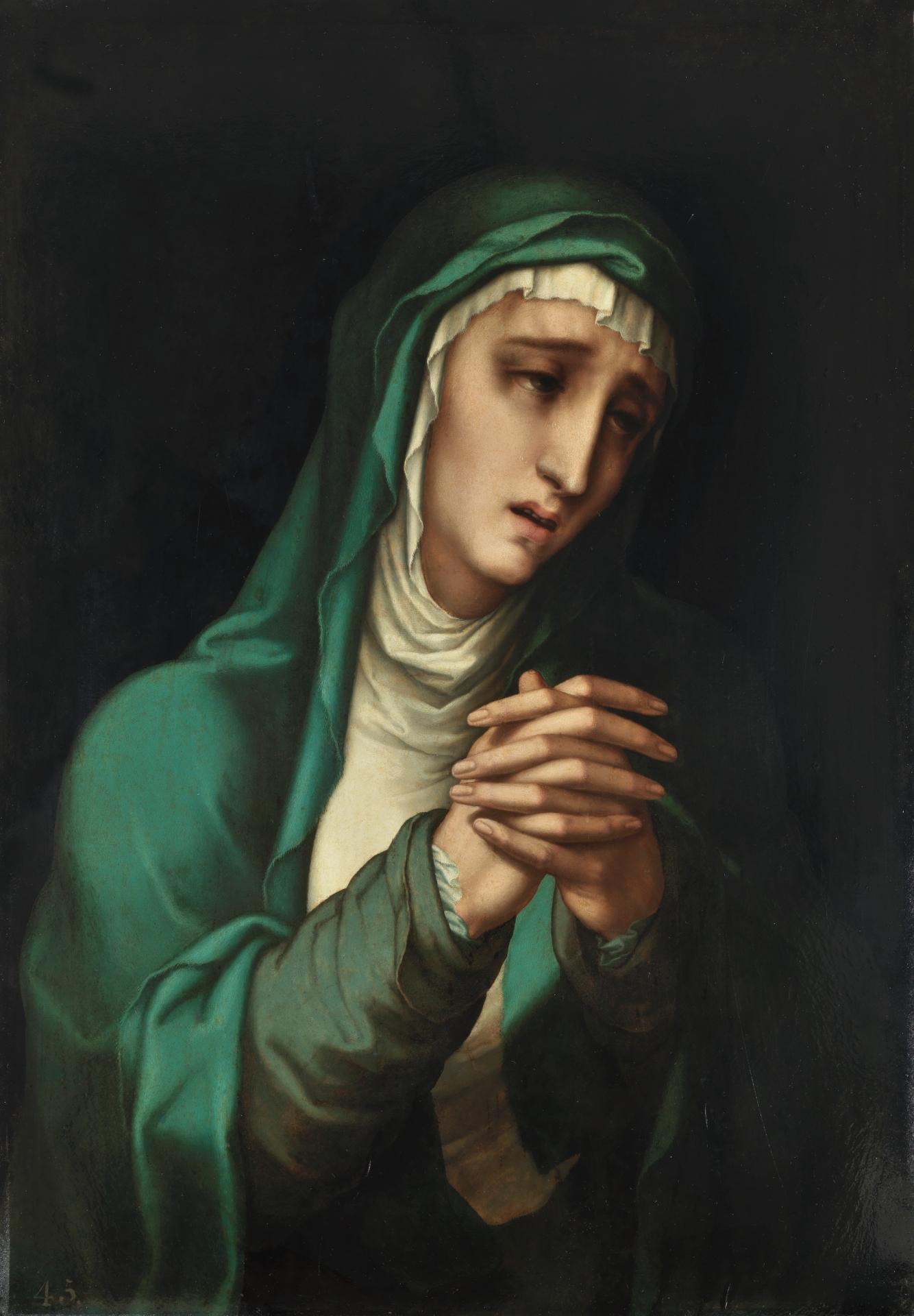 1560 - 1570 Luis de Morales The Virgin Dolorosa Prado