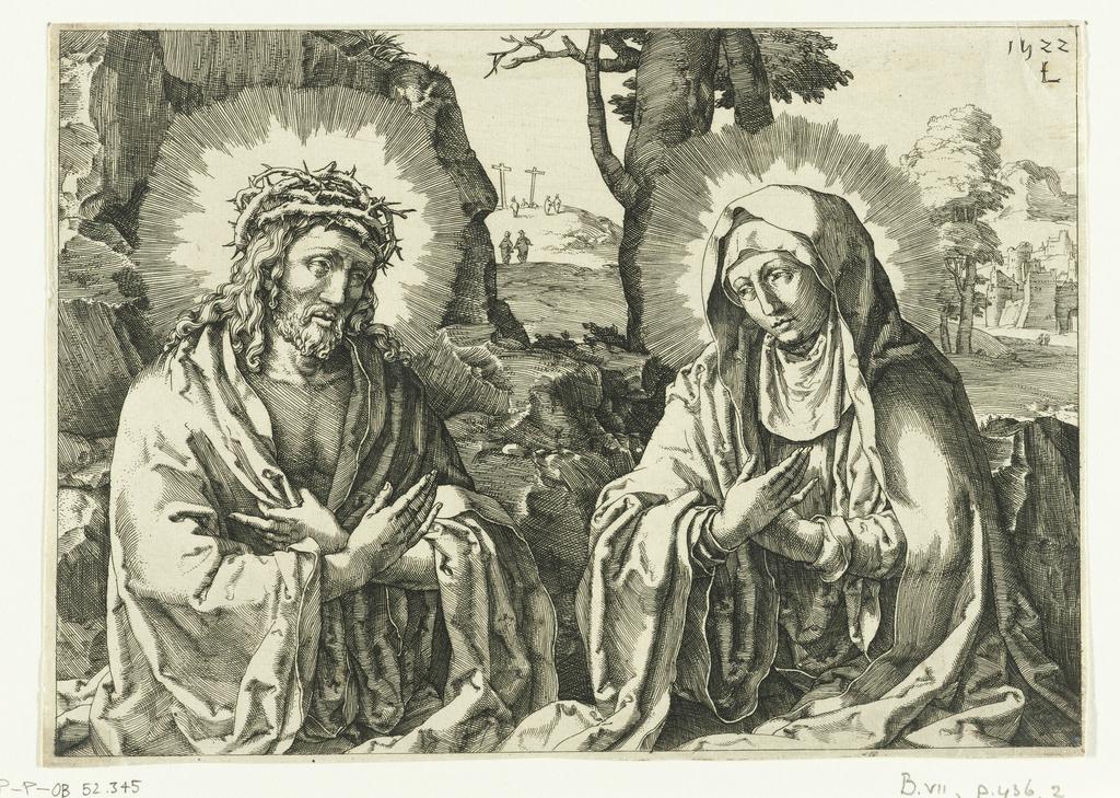 1600-28 Lucas van Leyden christus-als-man-van-smarten-en-maria-als-mater-dolorosa