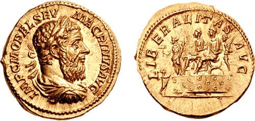 217-218 Aureus_Macrinus-RIC_0079