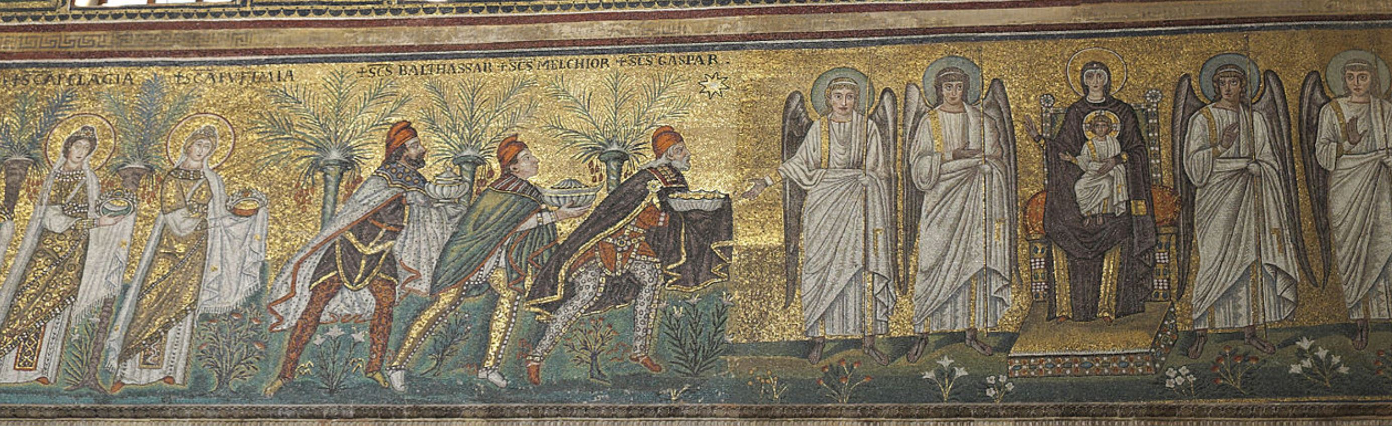 561 apres Vierge a l'Enfant Saint Appolinaire le neuf Ravenne
