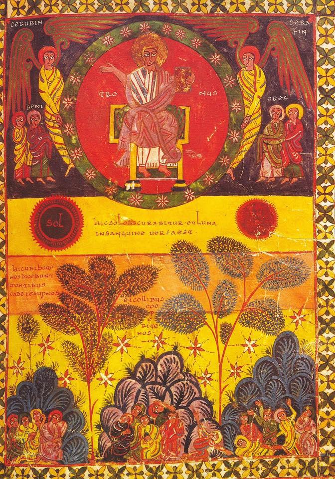 940-45 Beatus Morgan MS M.644 fol. 112r