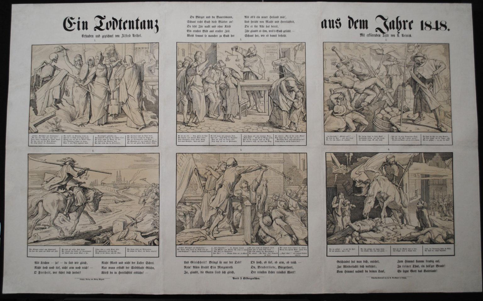 Alfred_Rethel Mai 1849 Ein Todtentanz aus dem Jahre 1848