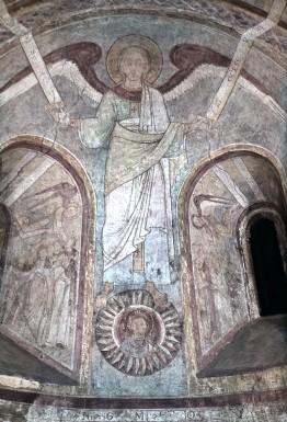 Ange sur le soleil 1146-55 allerheiligen kapelle regensburg