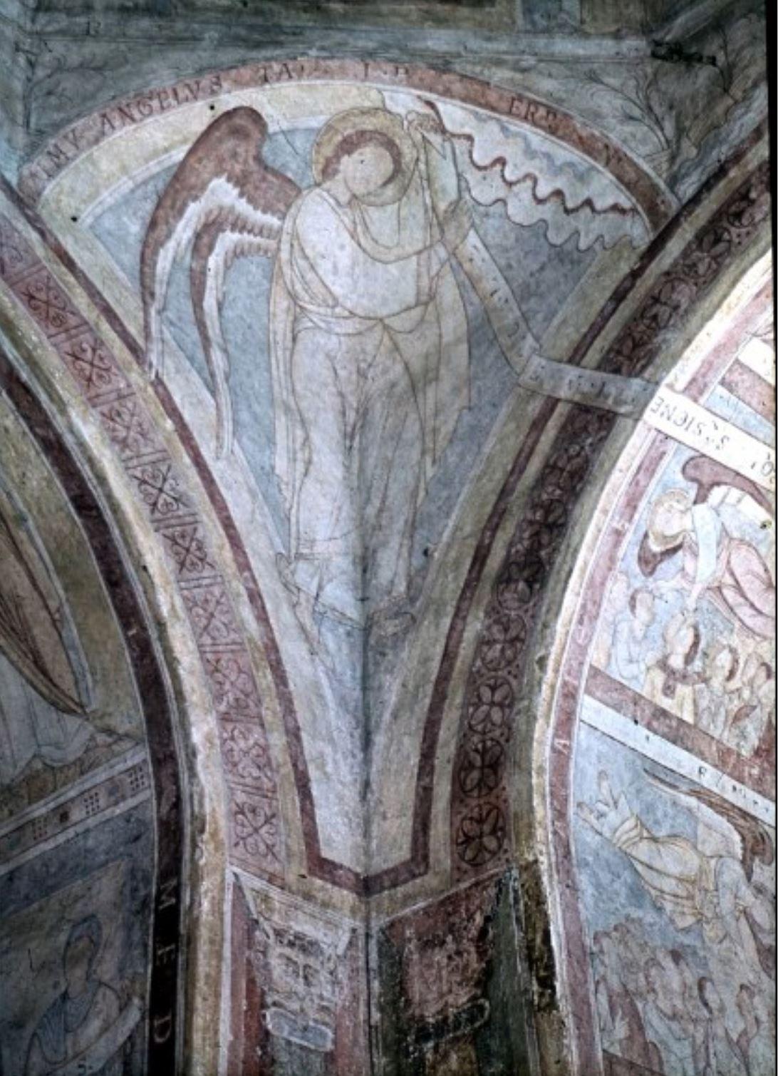 Coupole 1146-55 allerheiligen kapelle regensburg quatre anges