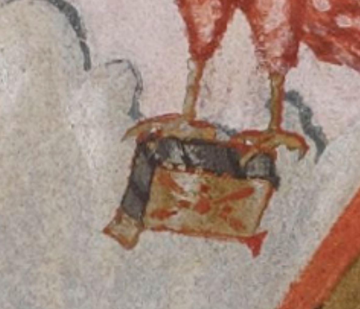 Evangeliaire_de_Lothaire BNF Lat.266 fol 2v detail livre