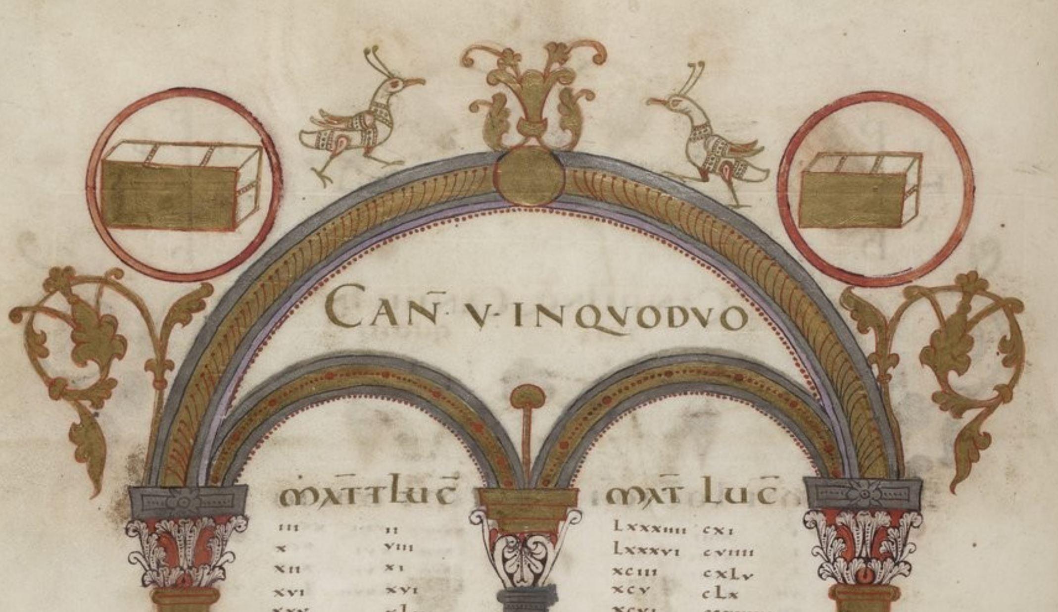 Evangeliaire_de_Lothaire BNF Lat.266 fol15v