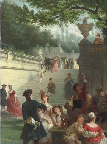 Fete champetre Emile Bayard 1878 droite