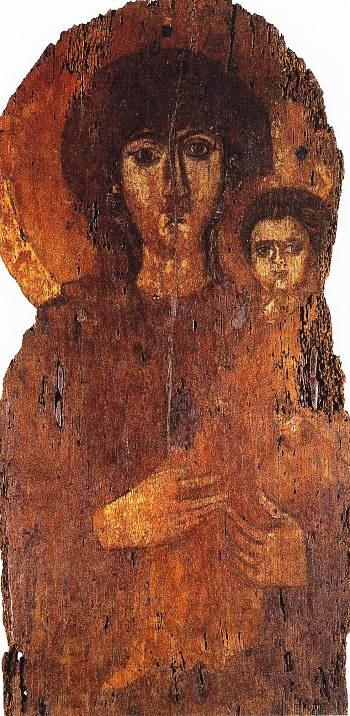 Icone du Pantheon (S. Maria ad Martyres) debut VII sec