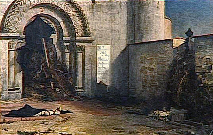 Jean Paul Laurens 1875 salon-Interdit Musee Anfre Malraux Le Havre