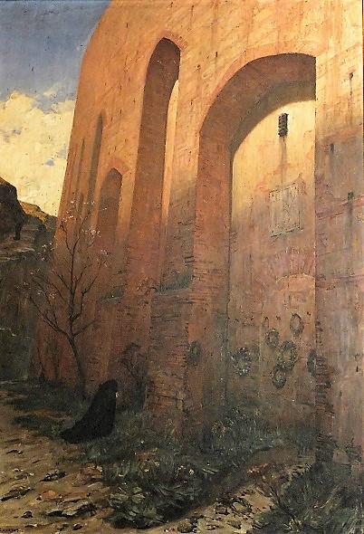 Jean-Paul Laurens 1883 (salon) Les Murailles du Saint-Office Musee des Augustins Toulouse,